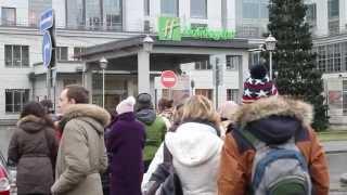 Взрывоопасный телемост с Михаилом Ходорковским(Сегодня в Петербурге прошел телемост с участием Михаила Ходорковского, организованный движением