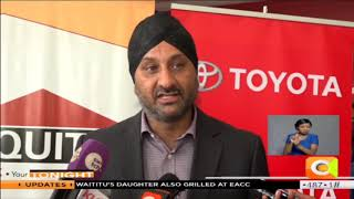 Toyota Kenya signs deal with Equity