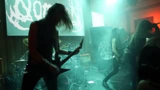 "NOMINON ""In The Name Of Gomorrah"" Live @ DEATH KILLS FESTIVAL, Stockholm, Sweden 280215"