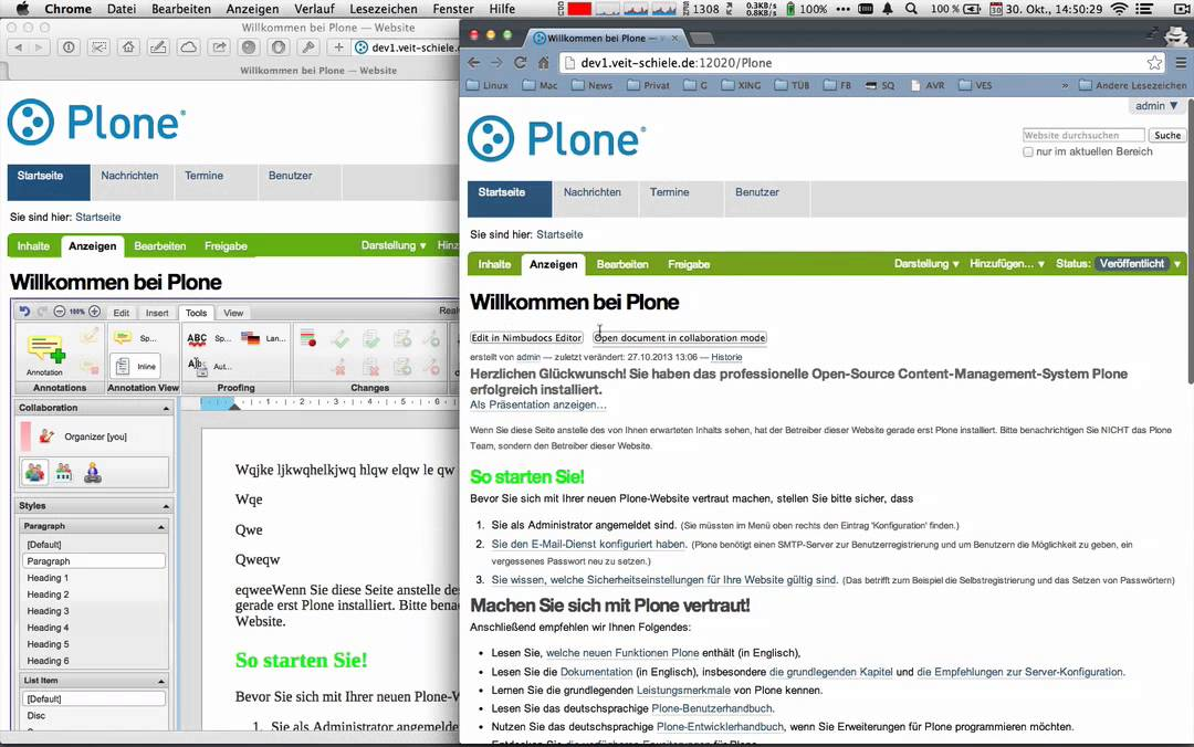 Videos Produce Publish Python Plone Electronic