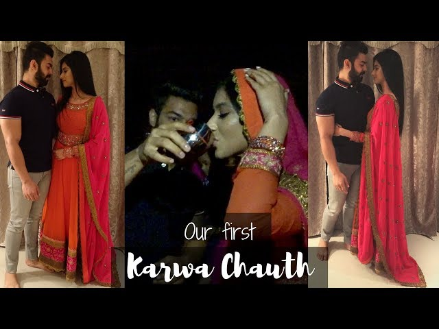 OUR FIRST KARWA CHAUTH | VLOG | THE LIFE OF B