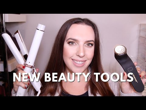 pr-haul-//-new-beauty-tools-from-t3-&-elevatione,-new-skin-care-from-bliss-&-derma-e