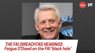 The FAI 'black hole' | Fergus O'Dowd on financial troubles and future of the association