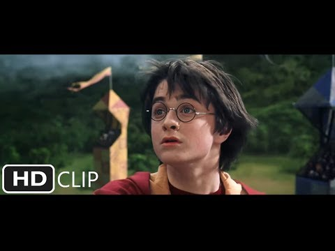 Harry Potter and the Chamber of Secrets - Rogue Bludger scene (Part 1 of 2)