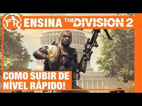 COMO SUBIR DE NÍVEL RÁPIDO EM THE DIVISION 2 COM FILIPE RAMOS