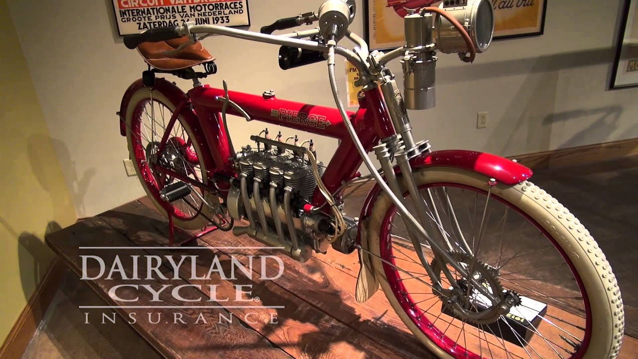 1912 Pierce Four with Disc via Dairyland Cycle Insurance ...