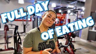 FULL DAY OF EATING IM MINICUT