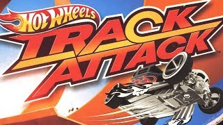 HOT WHEELS TRACK ATTACK GAME Twin Mill III / Bone Shaker Sets Gameplay Video