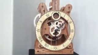 Seth Thomas Wooden Gear Clock
