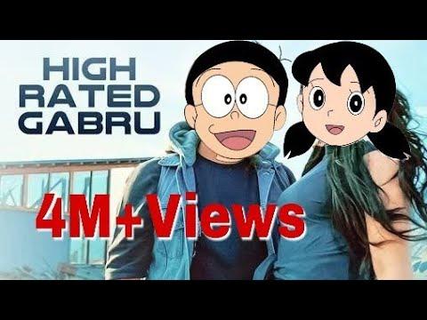 Guru Randhawa:High Rated Gabru song (Cartoon Version) 2017 | Doraemon Version Nobita Shizuka ||