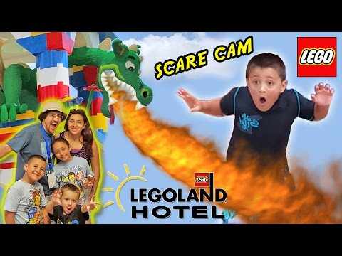 LEGOLAND HOTEL Grand Opening in Florida + DRAGON SCARE CAM!