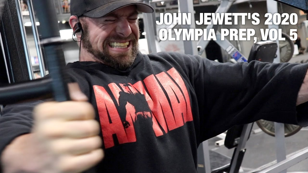 John Jewett's 2020 Olympia Prep | Vol. 5