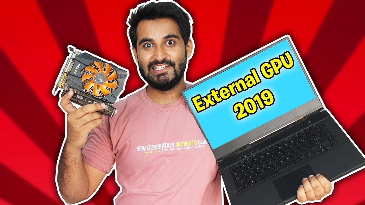 HINDI] How to Setup External GPU on Laptop !! (2019)