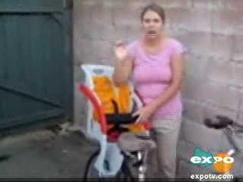Copilot Limo Bicycle Child Seat Youtube