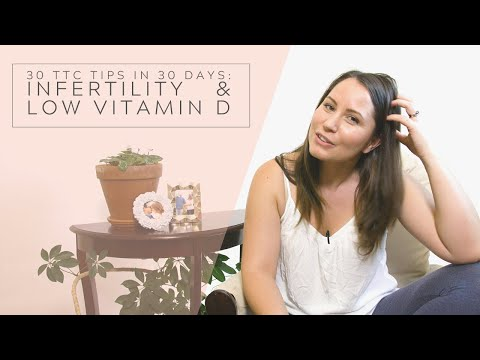 LOW VITAMIN D LINKED TO DIFFICULTY CONCEIVING A BABY