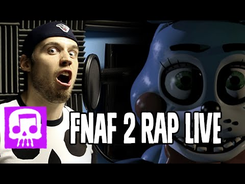 "Thumbnail: Five Nights at Freddy's 2 Rap LIVE by JT Machinima - ""Five More Nights"""