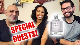 Calvin Klein Eternity Now Review w/ Special Guests!