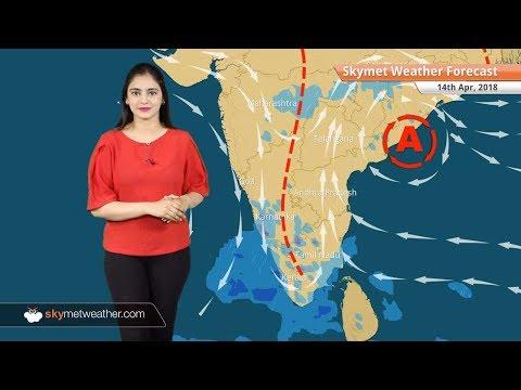 Weather Forecast for Apr 14: Rain Tamil Nadu, Kerala, West Bengal, dry weather in Delhi