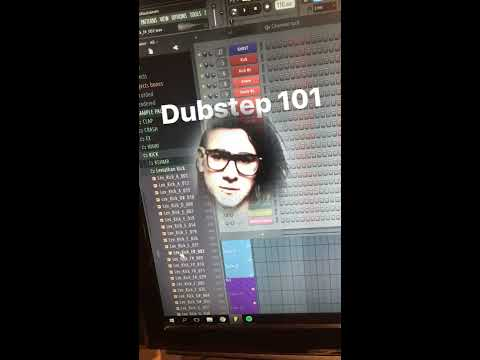 Dubstep 101 (MAKING SKRILLEX DROP IN 1 MINUTE) not clickbait just pure dope 🔥🔥