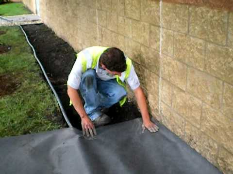 the lawn ranger installing landscape fabric youtube