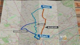 Car GPS, Waze & Google Maps: Which Gets You To Your Destination Faster? Free HD Video