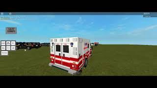 Amazing roblox Ambulance