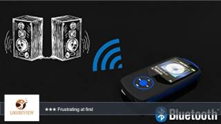 CFZC 16GB Bluetooth MP3 Player Lossless Sound Music Media player With FM Radio,Video, Voice Record