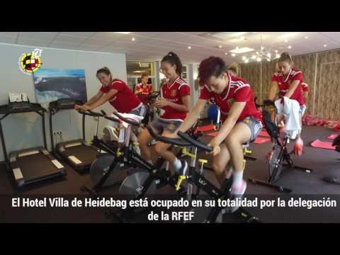 Así es la sede de la Selección española femenina en Holanda