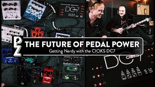 Cioks DC7 - The Most Powerful Pedal Power Supply in the World?