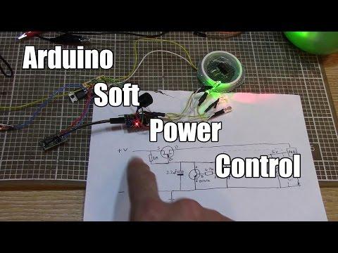 Arduino soft power control