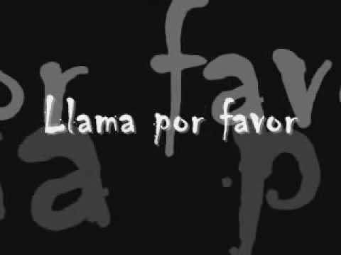 Llama por favor   Alejandra Guzman letra