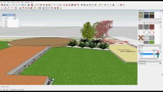 Use The Free Version Of Sketchup To Model Landscape Designs Created In Gcadplus You