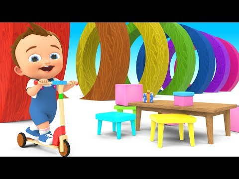 Learn Educational Toys for Kids Baby Fun Play Wooden Scooter Assembly Preschool Toddlers Activities