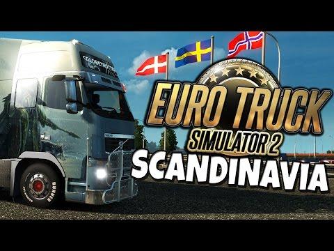 Euro Truck Simulator 2 - Scandinavia DLC - Road Trip