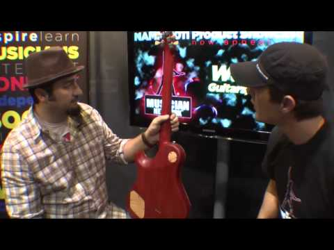 W NAMM 2011: WARRIOR GUITARS