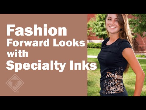 Fashion Forward Looks with Specialty Inks