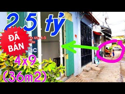 Phát Hiện Nhà 2.5 tỷ (36m2) ĐẸP – 151 đường liên khu 4-5 Bình Hòa B quận Bình Tân sổ Hồng Riêng