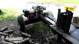Diy Homemade Wood Log Splitter