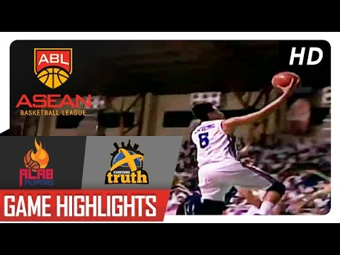 Asean Basketball League | Alab Pilipinas vs. Kaohsiung Truth Game Highlights | December 4, 2016