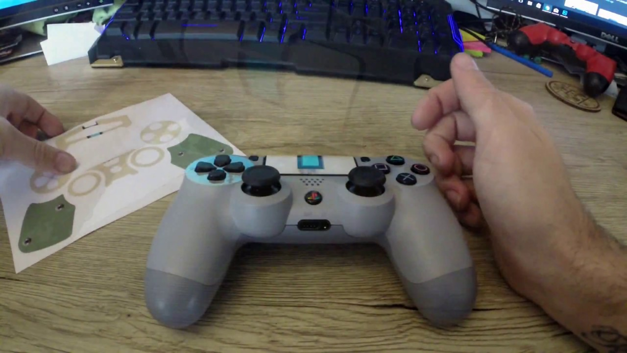 How To Ps4 Controller Skin Install