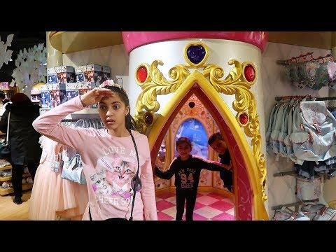 Hide and Seek in Disney Store!