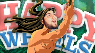 O TARZAN DO HAPPY WHEELS