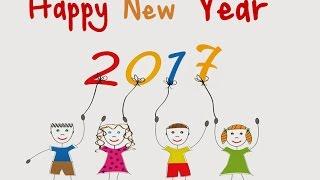 Новогоднее поздравление от учеников 1 класса