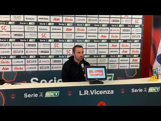 CALCIO - La conferenza stampa pre partita di mister Brocchi, Pordenone vs LR Vicenza