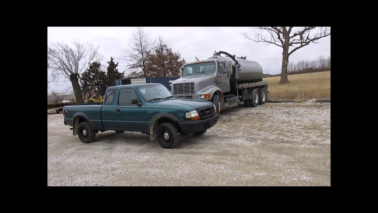 1998 Ford Ranger SuperCab pickup truck for sale | sold at auction ...