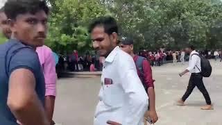 यूपी: लखनऊ के इको गार्डन में हज़ारों प्रदर्शनकारियों की भीड़ देखिए..