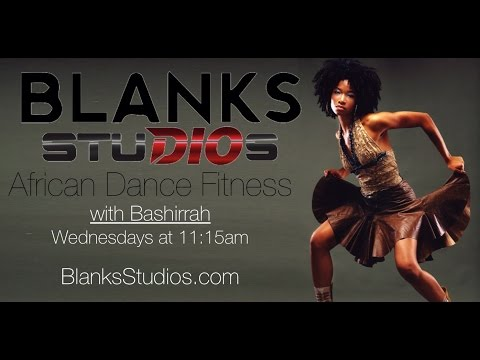 African Dance for beginners Weekly Workout! Episode 1!!