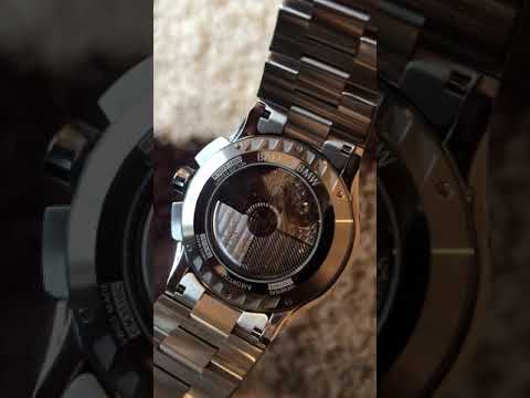Transparent Caseback On The Ball & BMW Chronograph Chronometer Limited Edition (Rare Watch)