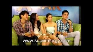 Enchong Dee Maja Salvador Kim Chiu and Xian Lim for Ina Kapatid Anak