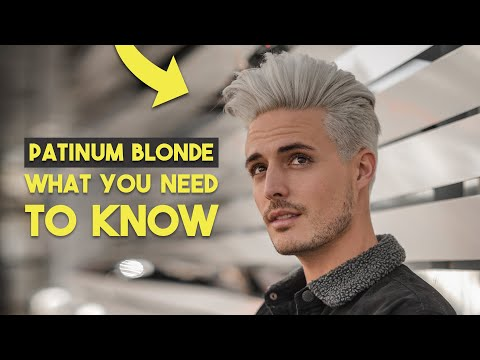 Going Platinum Blonde: What You Need To KNOW First | Mens Hair 2020